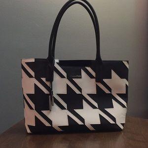 Calvin Klein houndstooth bag